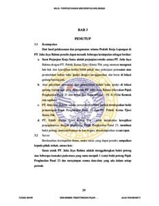 Mekanisme Pemotongan Pajak Penghasilan Pasal 23 Yang Berkaitan Dengan Sewa Alat Berat Di Pt Julia Jaya Rahma Sidoarjo Repository Unair Repository